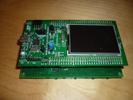 Carte SMT32 Discovery avec sa carte d'interface